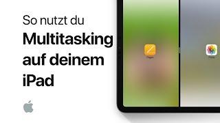 So nutzt du Multitasking auf deinem iPad