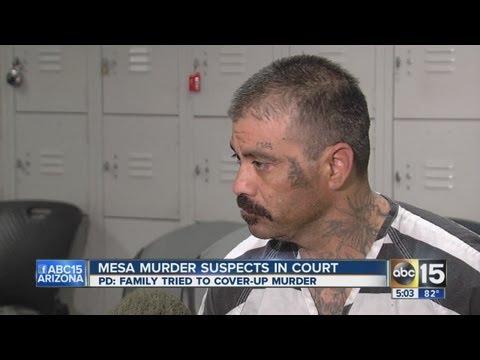 Mesa murder suspects in court