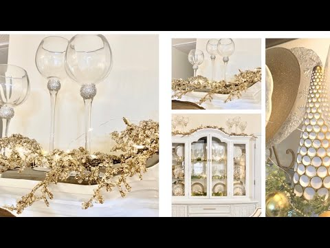 DINING HUTCH|BUFFET|SHELF|DECORATE WITH ME IDEAS FOR CHRISTMAS 2019!