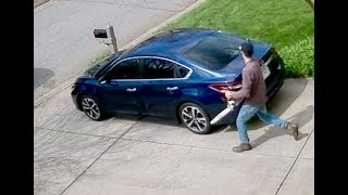 Simpsonville Neely Farm Garage Chainsaw Thief With Another Angle View