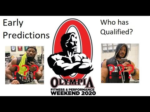 2020 Mr Olympia Qualified Bodybuilders / Early Predictions