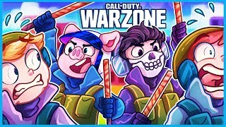 Warzone but we just try to beat people with sticks...