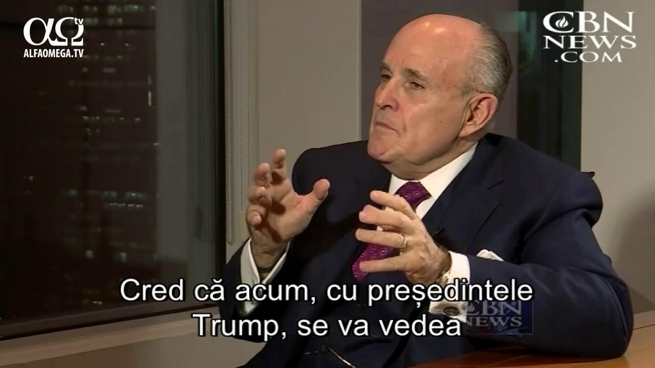 Rudy Guliani, fostul primar al New York-ului - SUA trebuie sa sustina Israelul