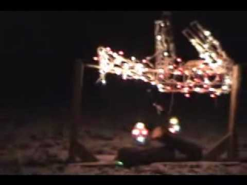 redneck Christmas Dead deer lights - Redneck Christmas Dead Deer Lights - YouTube