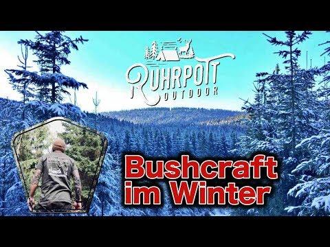 Bushcraft Tour im Winterwonderland! - Ruhrpott Outdoor Shortcuts