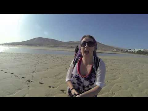 TAP BURSTS IN HOTEL, VISITING COSTA CALMA LAGOON FUERTEVENTURA, TRAVEL VLOG CANARY ISLAND
