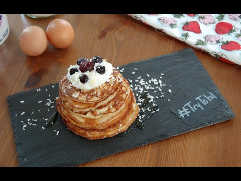 Total Greek Yoghurt Healthy Pancake Recipe