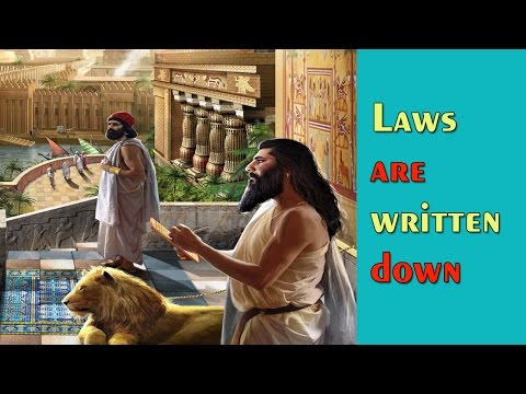 Laws are Written