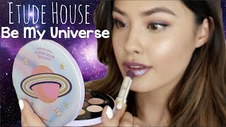 Etude House Be My Universe Holiday Collection | Haul, Demo, Swatches and Review!