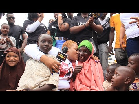 Nkechi Blessing Reaches Out To The Less Privileged On The Street Of Agege