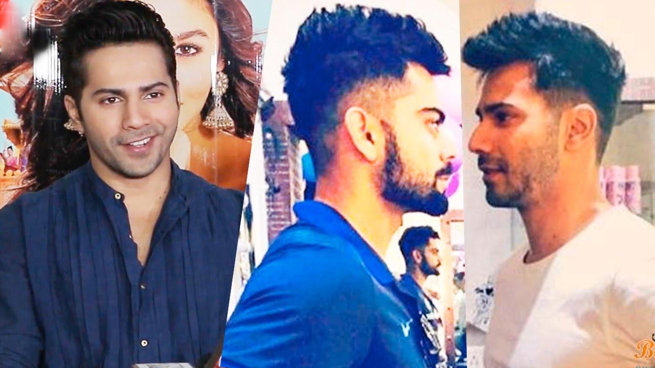 Varun Dhawan SPEAKS UP On Copying Virat Kohli\u0027s Hairstyle For Badrinath Ki  Dulhania