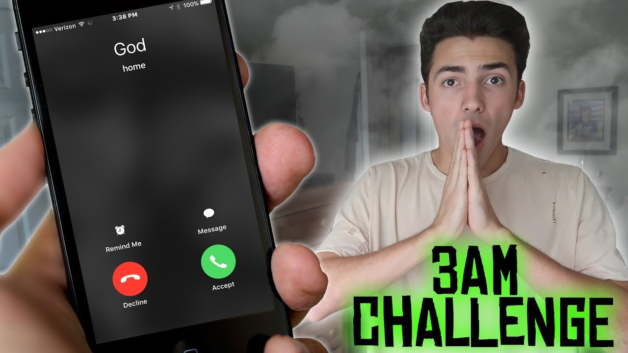 Download CALLING GOD AT 3AM CHALLENGE GONE WRONG! DO NOT CALL GOD AT 3 AM *THIS IS WHY*