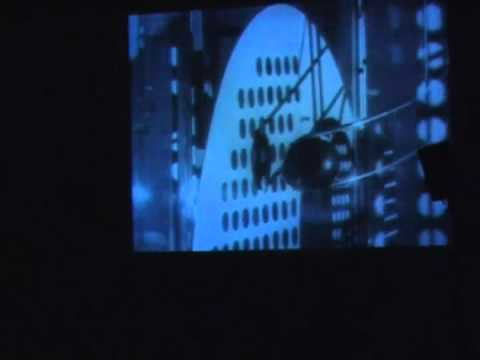 "Extended Modulator-Performance on László Moholy-Nagy´s ""Licht-Raum Modulator"". Dir: Lucio Capece"