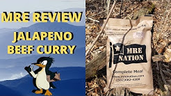 MRE Review Jalapeno Beef Curry