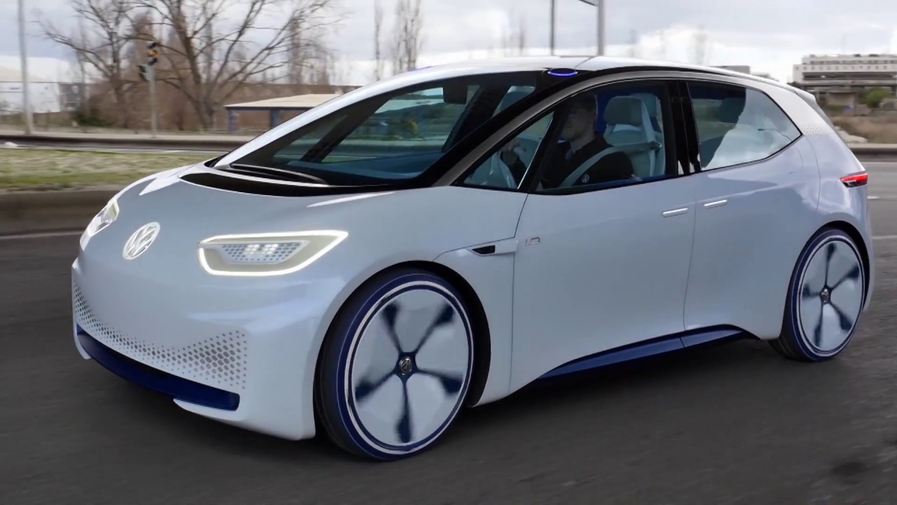 volkswagen id hatchback  full electric car  short review youtube