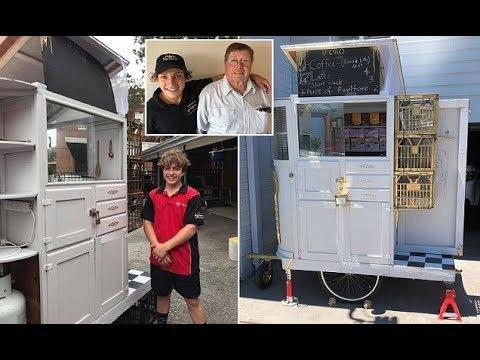 Coffee cart entrepreneur, 15, has business shut down