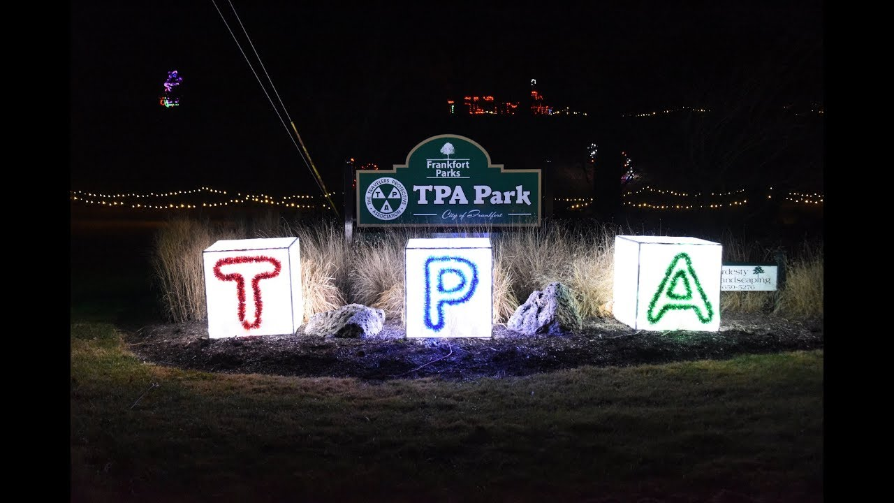Tpa Park Christmas Lights 2020 2017 Frankfort, Indiana TPA Park Christmas Lights Slideshow   YouTube