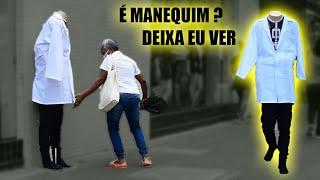 PEGADINHA - MANEQUIM SEM CABEÇA PARTE 3 - Mannequin Prank