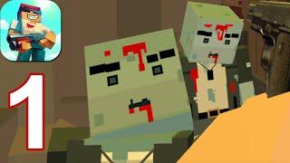 Zombie Pixel Warrior 3D - Gameplay Walkthrough Part 1 (Android,iOS)