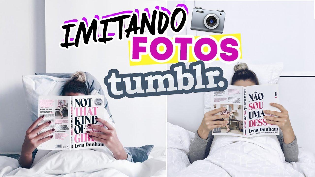 Poemas Para Fotos Sozinha: IMITANDO FOTOS TUMBLR - IDEIAS FÁCEIS EM CASA