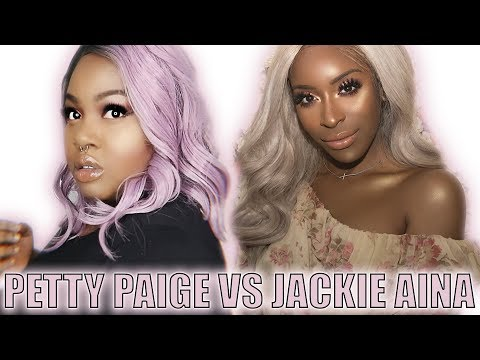 JACKIE AINA ACCUSES PETTY PAIGE OF HACKING AND THEFT