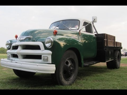 sold.1954 CHEVROLET 6400 PICKUP 2 TON 25,000 MILES AT FORD OF MURFREESBORO,TN 888 439 8045