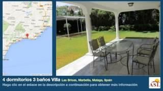 4 dormitorios 3 baños Villa se Vende en Las Brisas, Marbella, Malaga, Spain