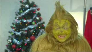 How The Grinch prepares for 'How The Grinch Stole Christmas' at Universal's Islands of Adventure