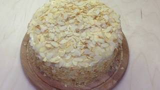 Торт Наполеон с кремом Пломбир - Новогодние рецепты 2018