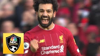 Mohamed Salah puts Liverpool ahead against Watford | Premier League | NBC Sports Video