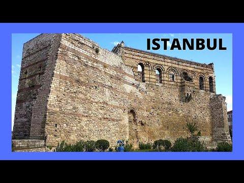 The historic Byzantine Palace of Blachernae (παλάτι των Βλαχερνών), Istanbul (Turkey)