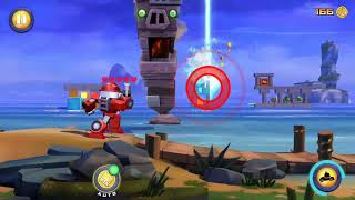 Angry Birds Transformers Bluogeon-Heatwave, Unlocked new upgrade Gameplay # 04