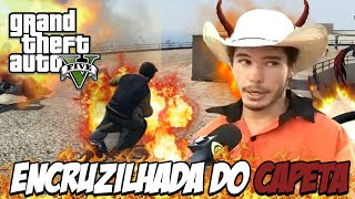 GTA V - O oito do INFERNO, encruzilhada do CAPETA