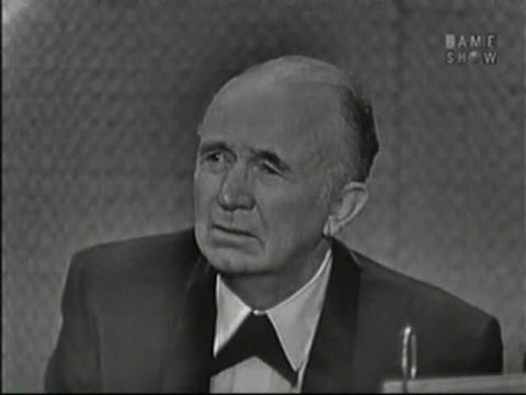 What's My Line? - Walter Brennan; James Michener [panel] (Nov 22, 1959)