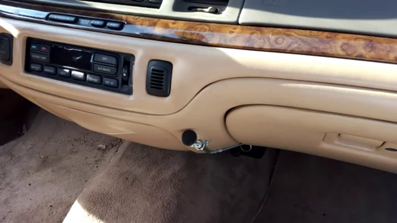 hight resolution of alternative cheap 1995 1997 lincoln town car blend door actuator replacement youtube