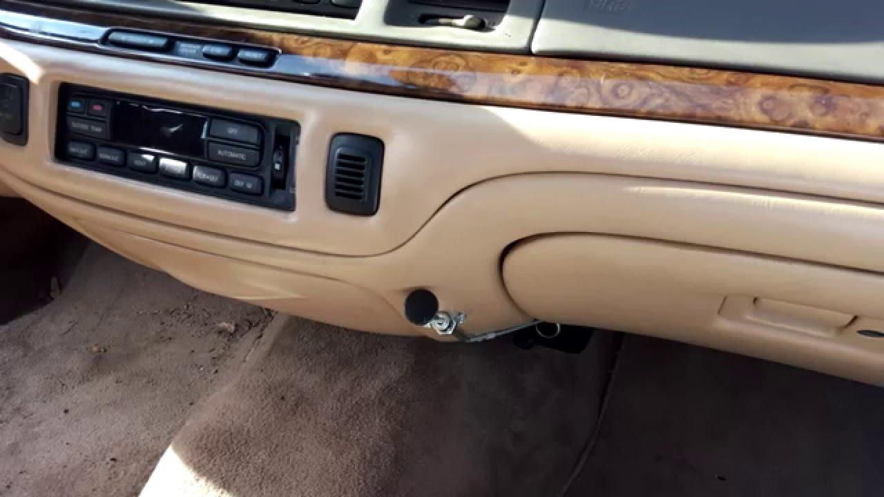 2007 Ford Crown Victoria Fuse Diagram Alternative Cheap 1995 1997 Lincoln Town Car Blend Door