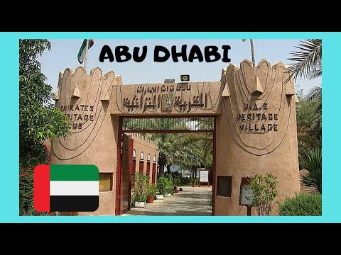 ABU DHABI: Beautiful HERITAGE VILLAGE,  United Arab Emirates