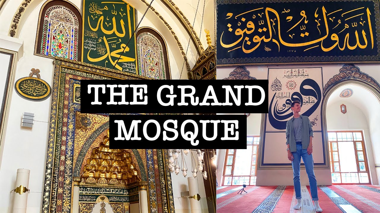 THE GRAND MOSQUE - BURSA, TURKEY 🇹🇷