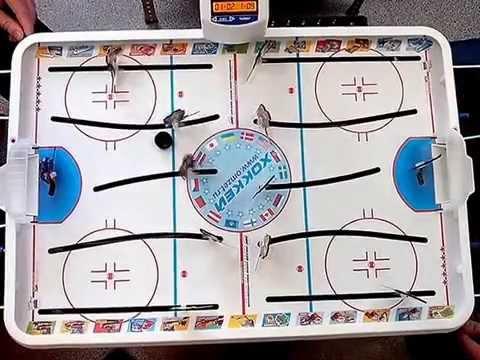 настольный электронный хоккей