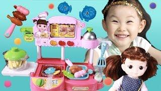 라임이의 콩순이 장난감 순서대로 착착 콩셰프 레스토랑 소꿉놀이 LimeTube & Toy  라임튜브