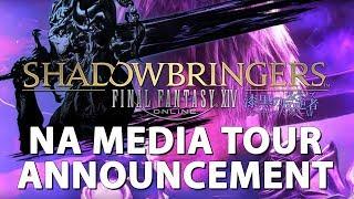 FFXIV ShadowBringers NA Media Tour Announcement! (I'M GOING!)