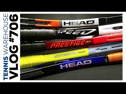 The Best Head Tennis Racquets & String Combos; Plus A Radical Pro-stock You Want To See - VLOG #706👀