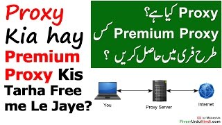 What is Proxy And How to Get Premium Proxy for Free Urdu Hindi Tutorial