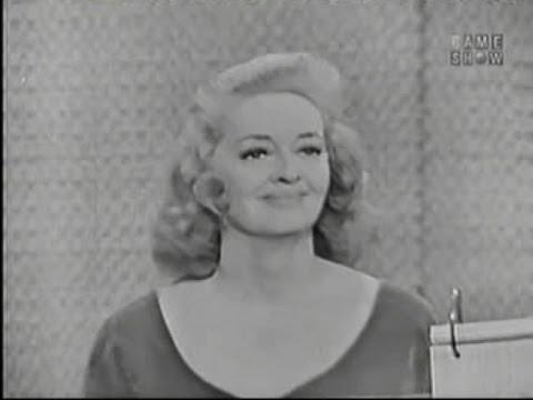 What's My Line? - Bette Davis; Art Linkletter [panel] (Nov 11, 1962)