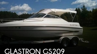 Used 2004 Glastron GS209 for sale in Zimmerman, Minnesota