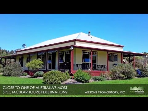 Lifestyle Property with Cabins, Tea Rooms & Restaurant Business for Sale - Wilsons Promontory, VIC