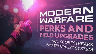 All Perks and Field Upgrades - Incl. Specialist Streaks | Call of Duty: Modern Warfare