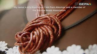 GEPA BUILDS BAUXITE BEADS MAKING FACILITY FOR THE PEOPLE OF ABOMPE.
