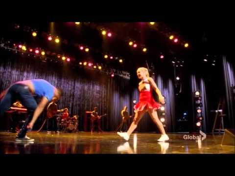glee's kitty and jake: everybody talks video clip version