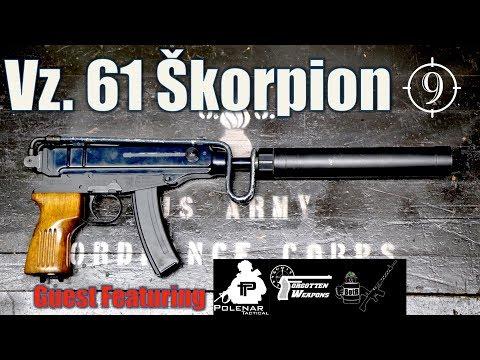 Vz61 Skorpion  review- Feat Forgotten Weapons Polenar Tactical BOTR CZ Scorpion Milsurp